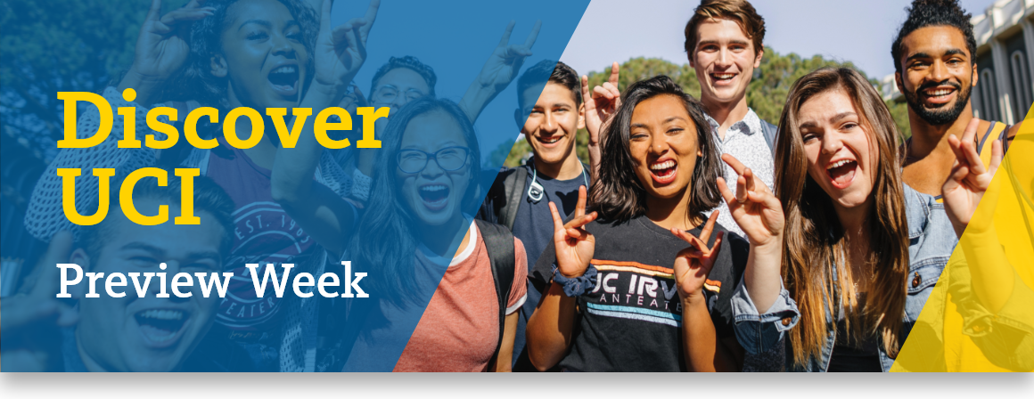 Discover UCI Preview Week
